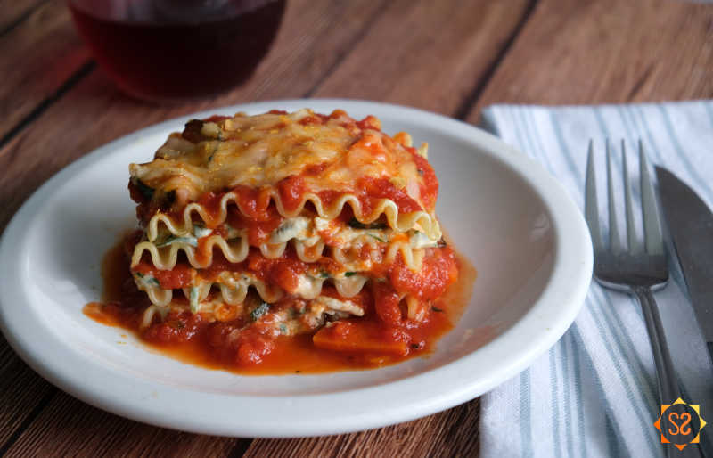 Lasagna is a crowd-pleasing main dish that everyone can agree on.