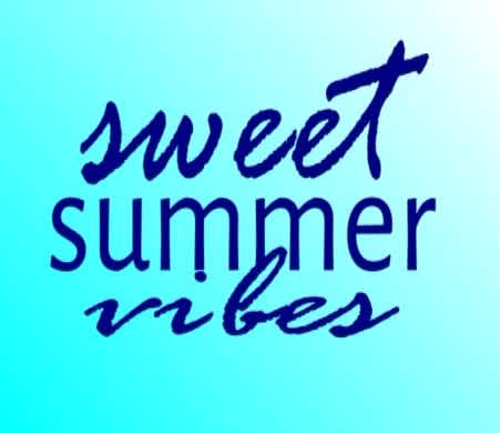 Sweet Summer Vibes Cover 2019