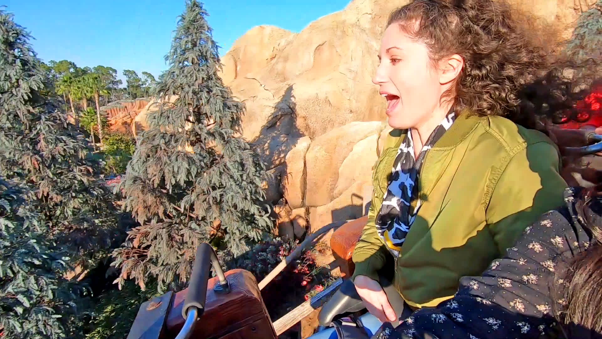 Mine Train Drop