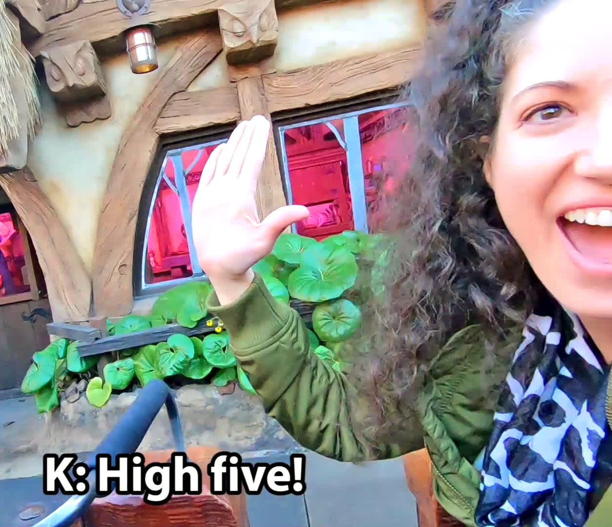 Mine Train High Five