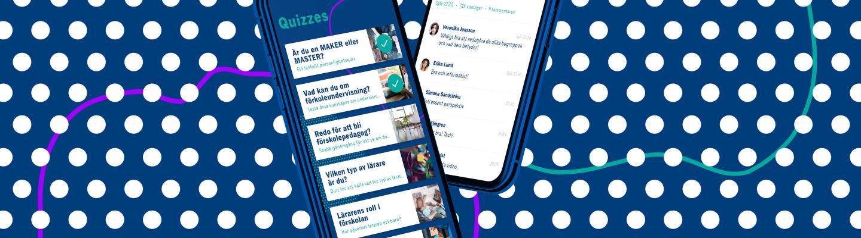 Förskola21 - Our first Flutter-based app - Dynamo