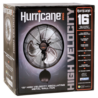 Hurricane Wall Mount 16 in box