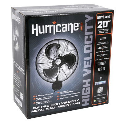 Hurricane Wall Mount 20 in box