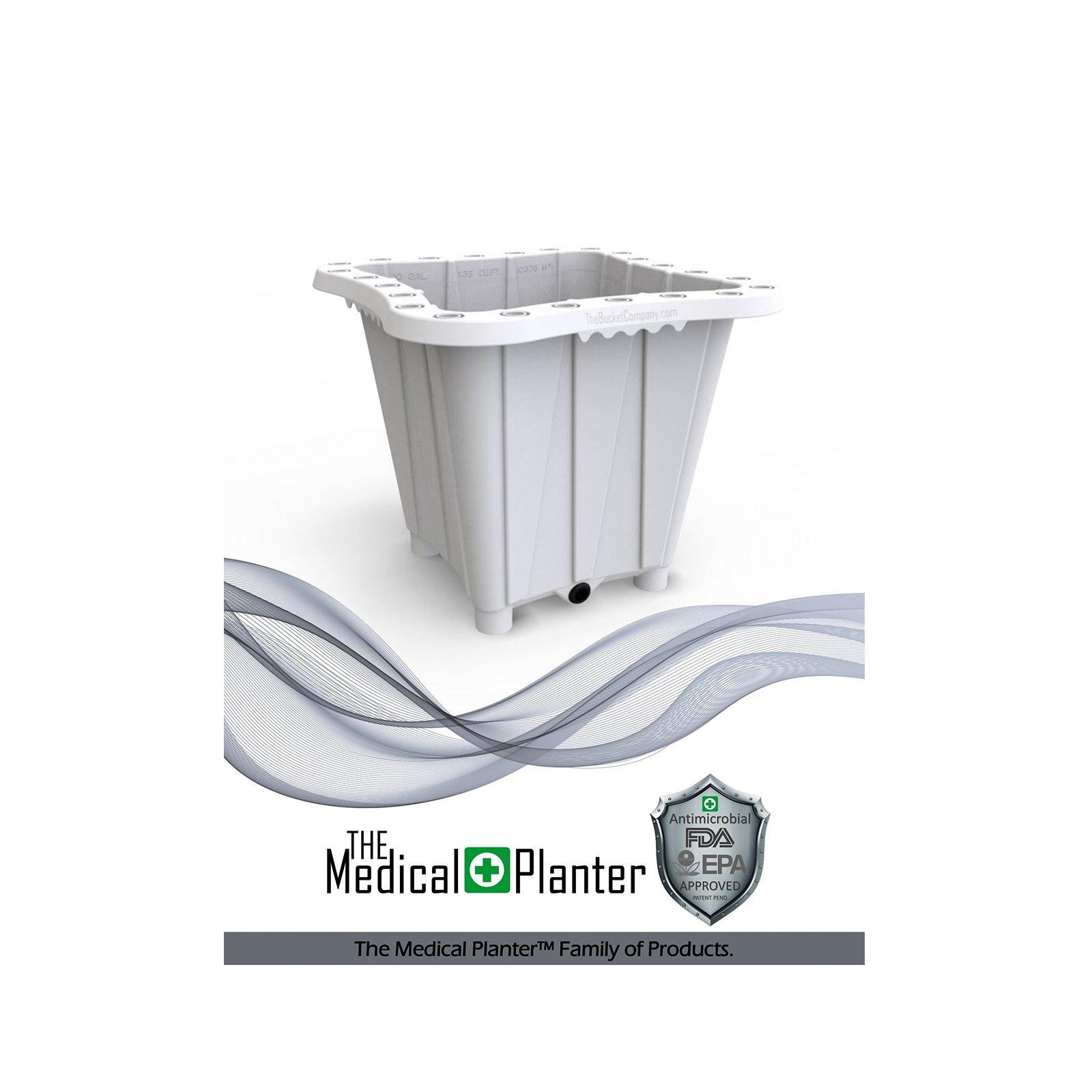 The Bucket Company Medical Planter