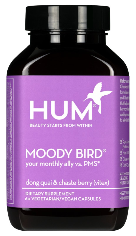 Supplement Review by popular Dallas lifestyle blog, Cute and Little: image of HUM Nutrition Moody Bird.