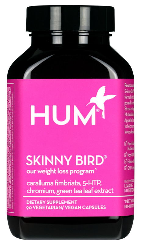 Supplement Review by popular Dallas lifestyle blog, Cute and Little: image of HUM Nutrition Skinny Bird.