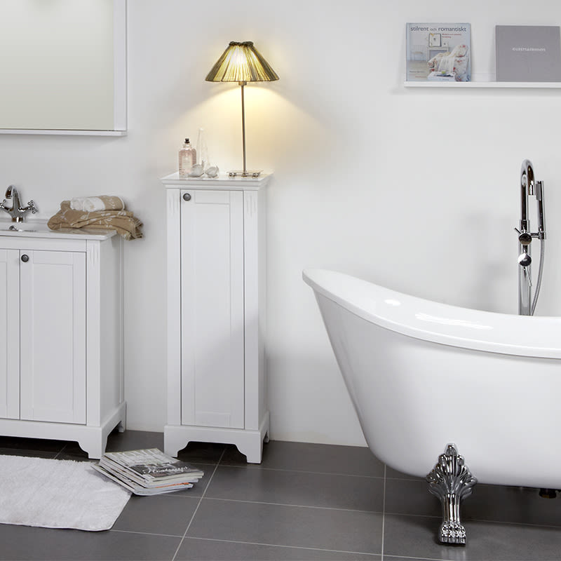 Strålande Badrumsinspiration: Inred badrummet i romantisk stil - K-rauta CU-32