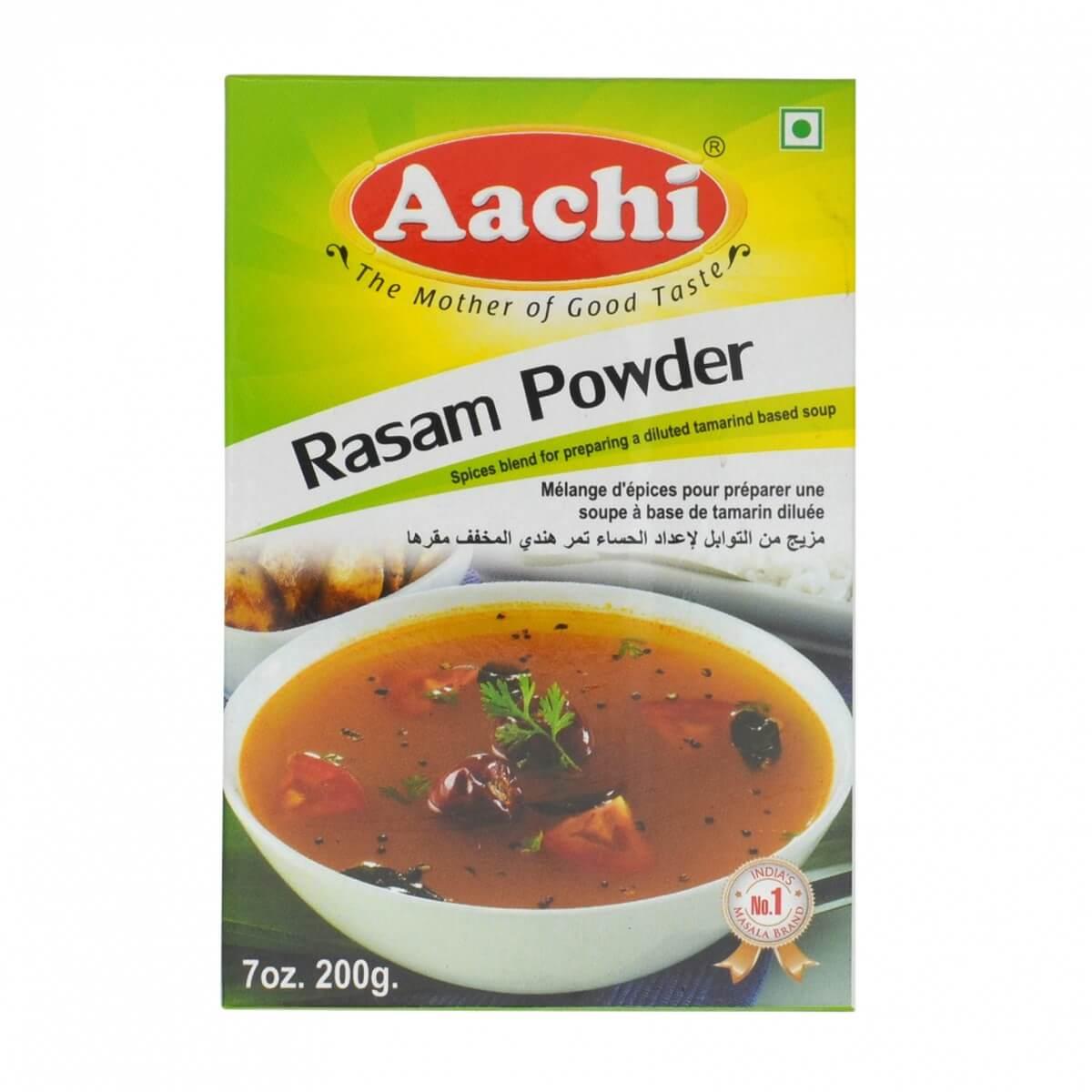 aachi rasam powder 200g front