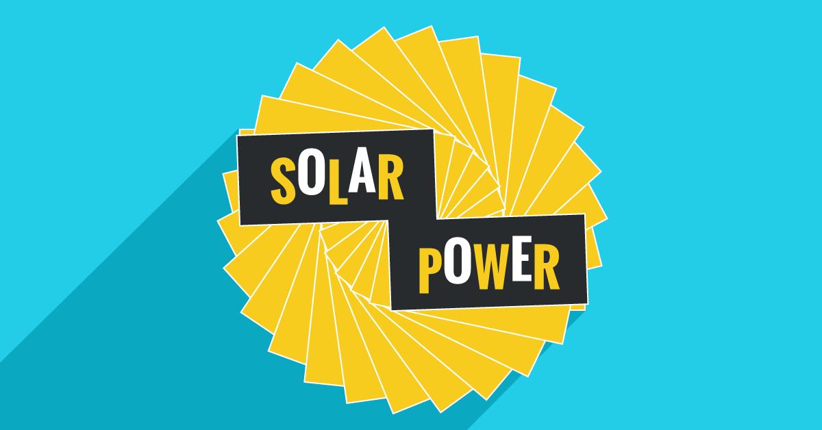 Solar power hero