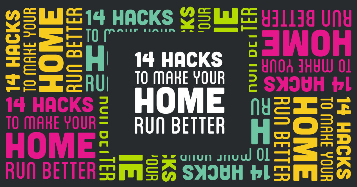 14 home hacks facebook image