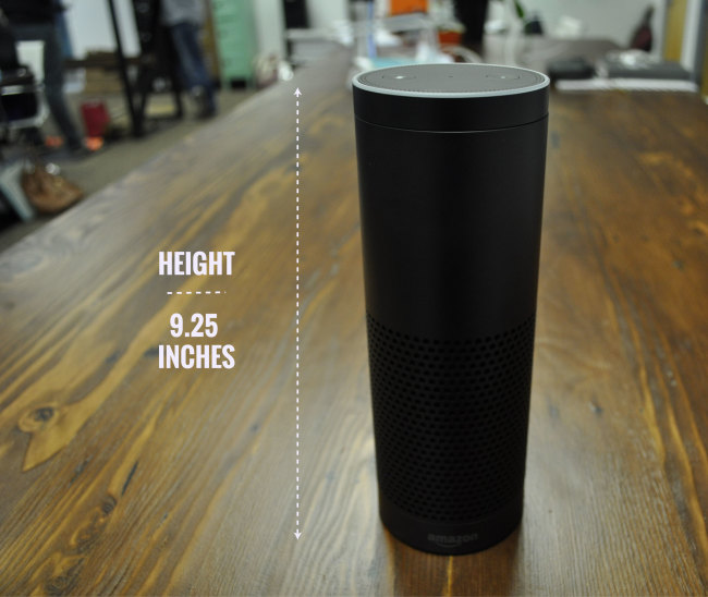 Amazon-Echo-height