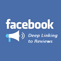 App Deep Linking to Reviews in Facebook