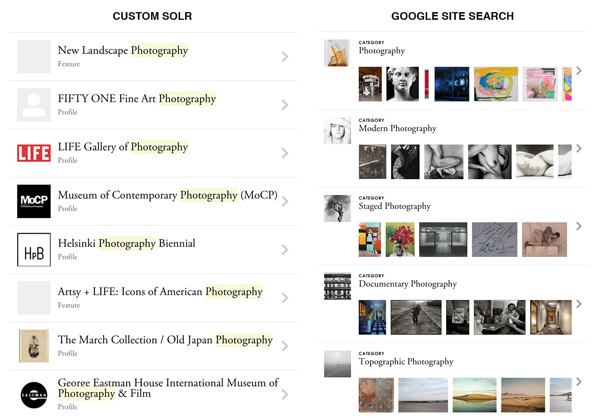 How we made Google Site Search awesome at Artsy | Brennan Moore