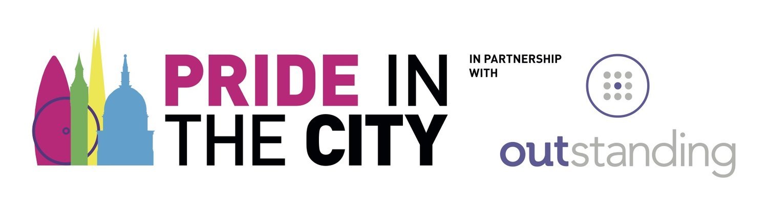 Pride in the city logo and outstanding logo