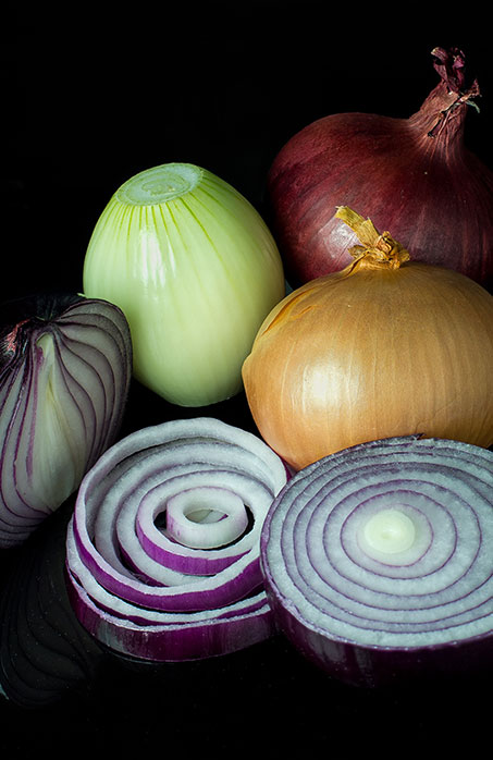Mixed Onions von Colin. Wikimedia Commons, CC-BY-SA