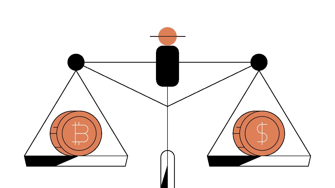 Ispanų prekyba kriptografija vs fiat