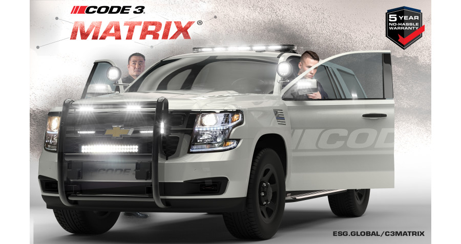 Code 3 Enhances Matrix System with Warning Lights, Auxiliary Hardware