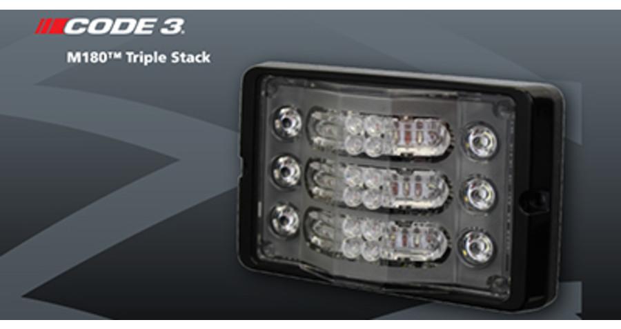 Code 3® Announces New Multipurpose M180™ Triple Stack
