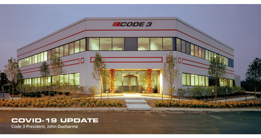 Code 3 to Continue Supplying Emergency Systems