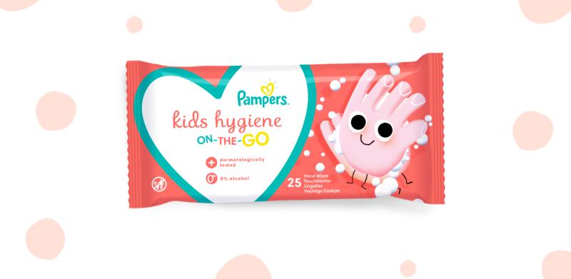 Μωρομάντηλα Pampers Kids Hygiene on-the-go