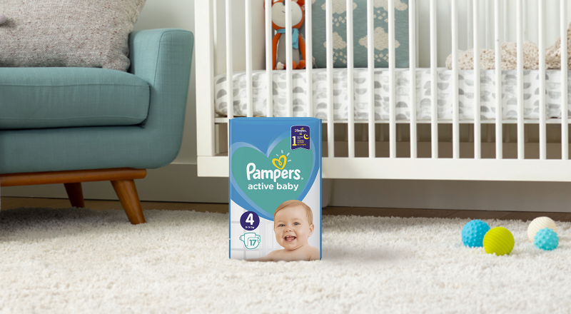Pampers® Active Baby™