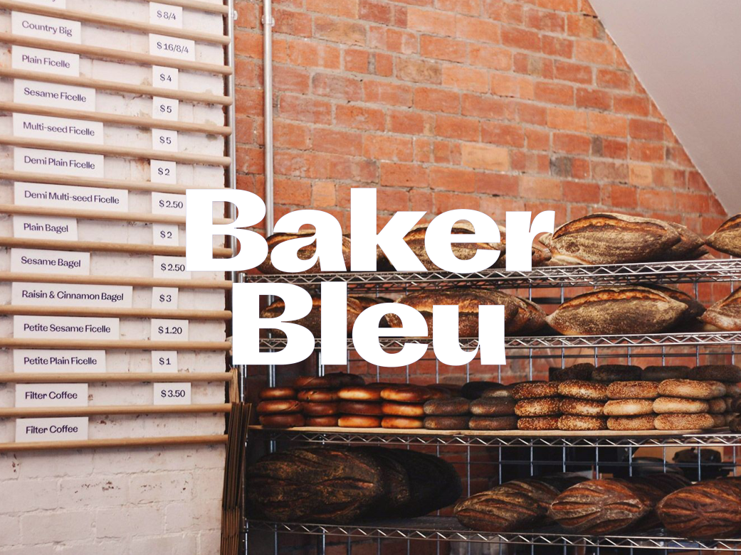 Baker Bleu Caulfield