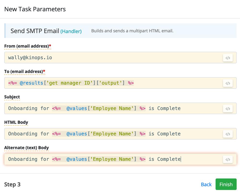 V5 New Node Parameters