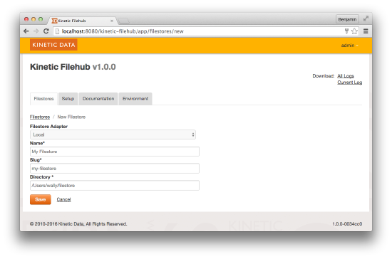 Configuring Filestore