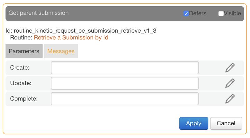 deferred node messages
