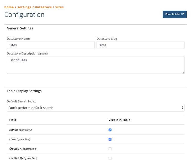 V5-Datastore Create New