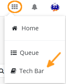 TechBar Top Menu1