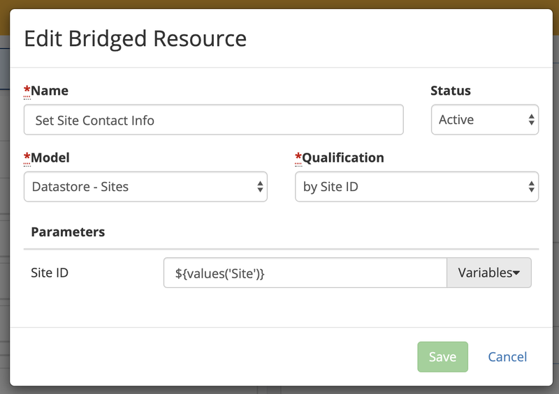 V5-Site Info Bridged Resource