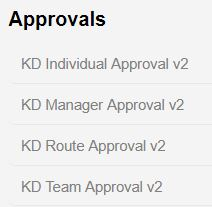 All Approvals