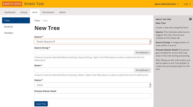 New Tree Console