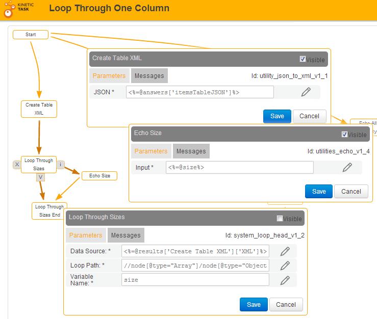 LoopThroughOneColumn-toXML