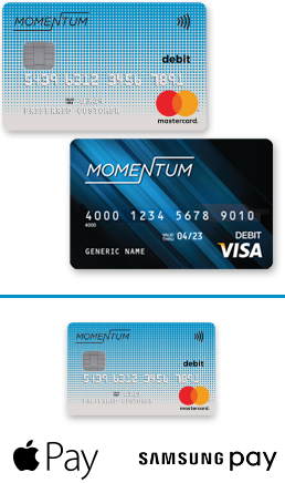 The Momentum Reloadable Prepaid Card