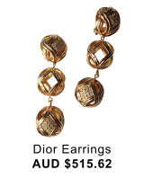 Dior-Earrings
