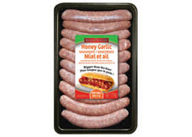 Packaging Honey Garlic Pork Sausages VP