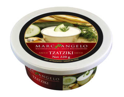 Tub of Tzatziki Sauce