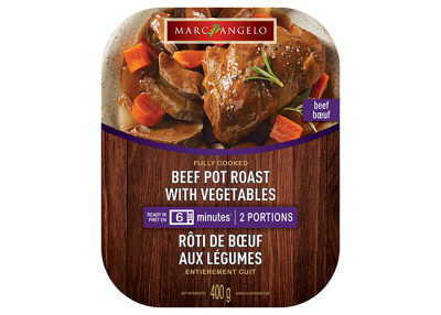 Heat&Eat Beef Pot Roast with Vegetables Pkg