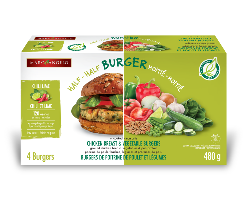 Chili Lime Flexitarian Burger Pkg