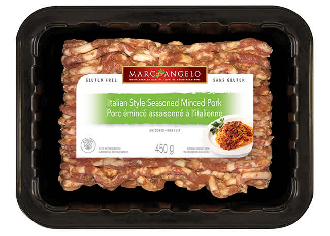 Italian Style minced pork packaging