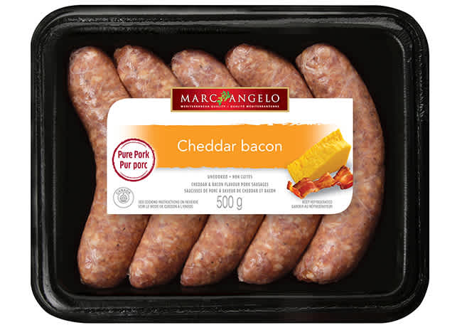 Sausages Cheddar Bacon Pkg