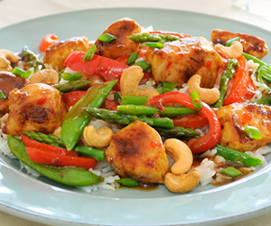 Sweet and Spicy Marcangelo Kabob Stir Fry