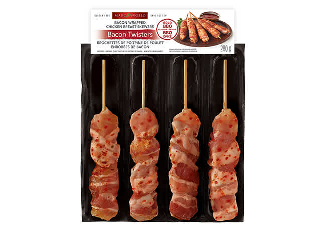 Chicken Bacon Twisters Bold BBQ Pkg