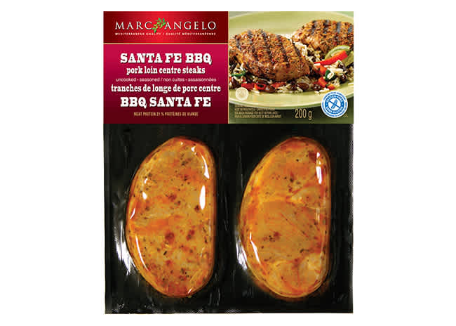 Santa Fe Steak 3D Packaging