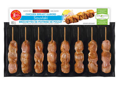 chicken souvlaki kabobs value pack packaging