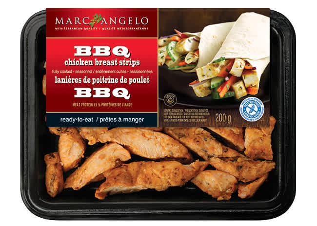 BBQ Chicken Strips Packaging