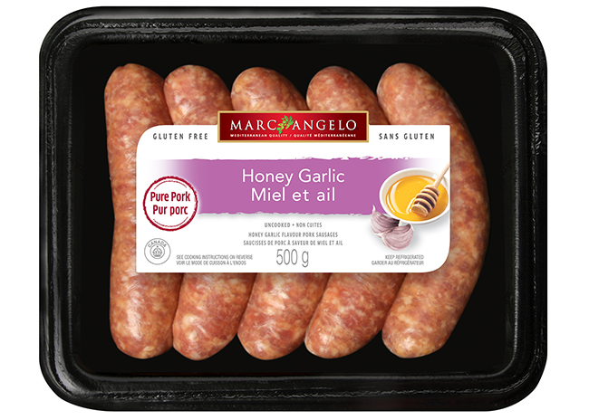 Sausages Honey Garlic Pkg
