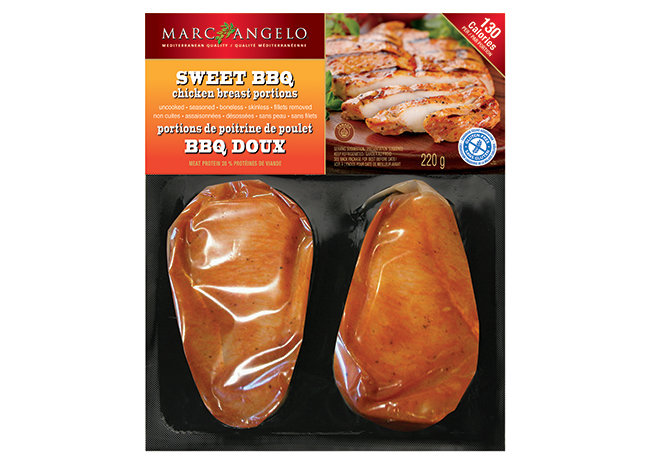 BBQ Chicken Breast Butterflied Package
